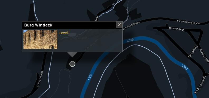 Ingress portal karte
