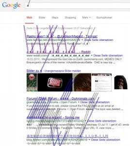 google bremsspur